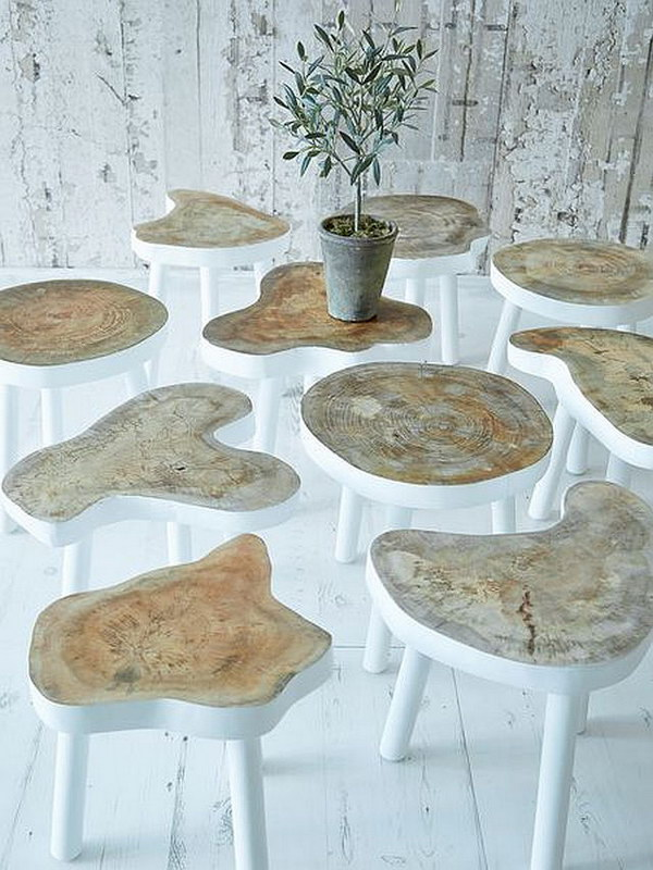 Small Tree Tables.