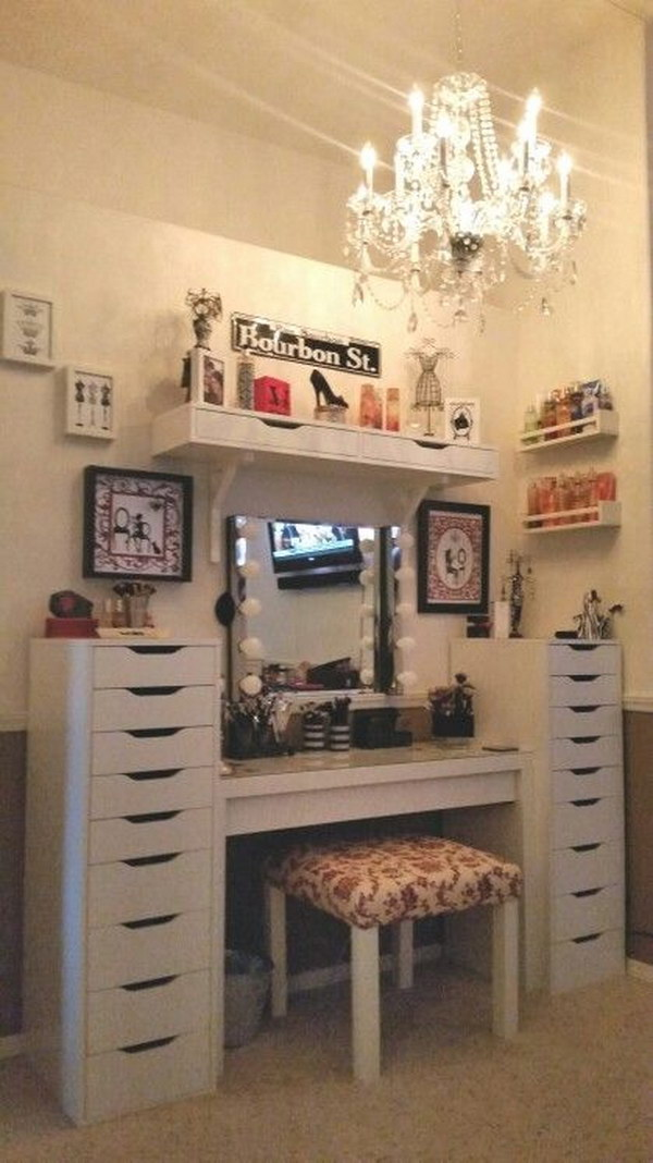 Awesome Makeup Vanity Ideas Noted List