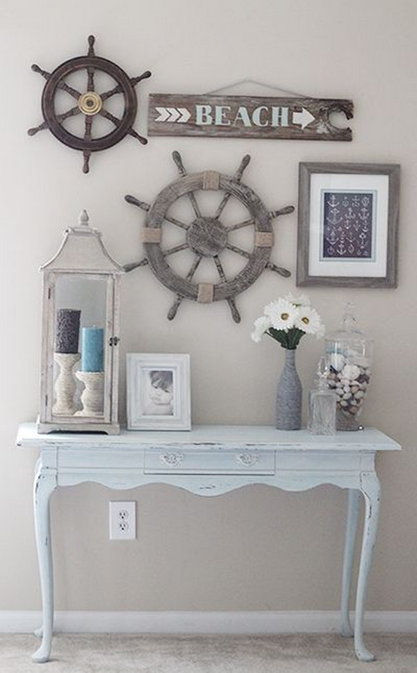 DIY Rustic Look Beach House Decor