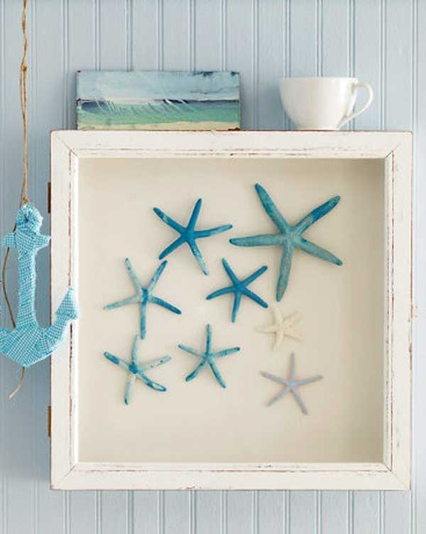 DIY Starfish Shadow Box
