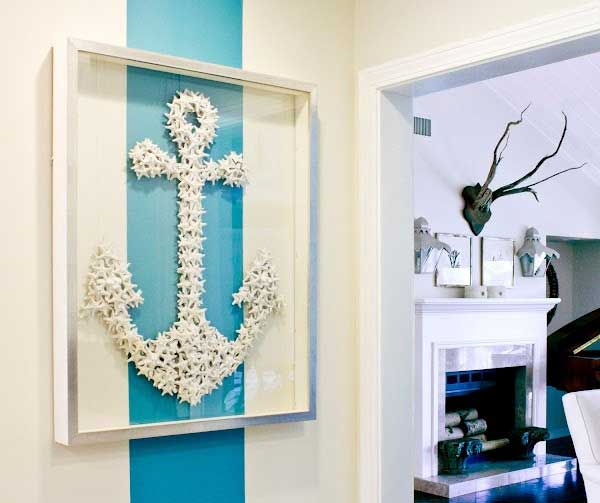 Starfish Anchor Wall Art