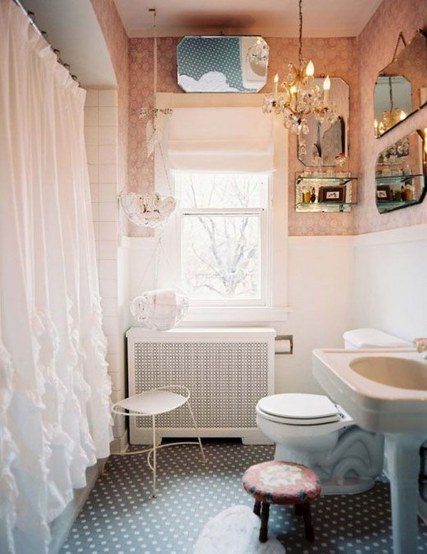 50 Amazing Shabby Chic Bathroom Ideas Noted List