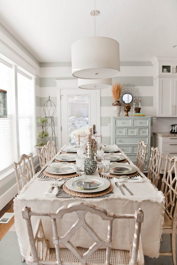 Shabby Chic Tablescape.