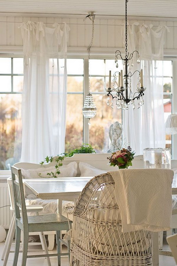 Shabby Chic Dining Room Ideas Awesome Tables Chairs And Chandeliers For Your Inspiration Noted List