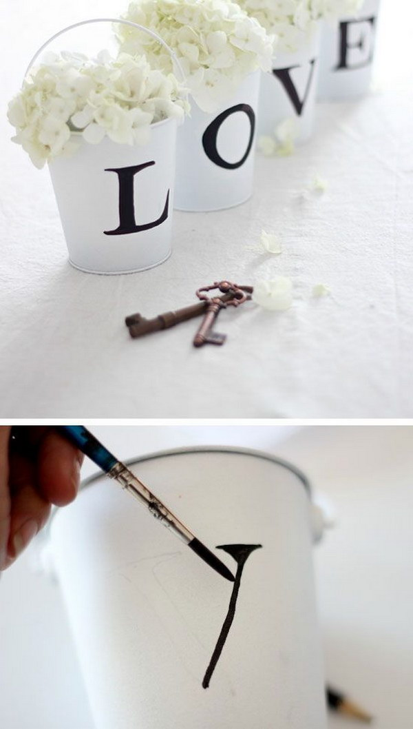 DIY Love Buckets