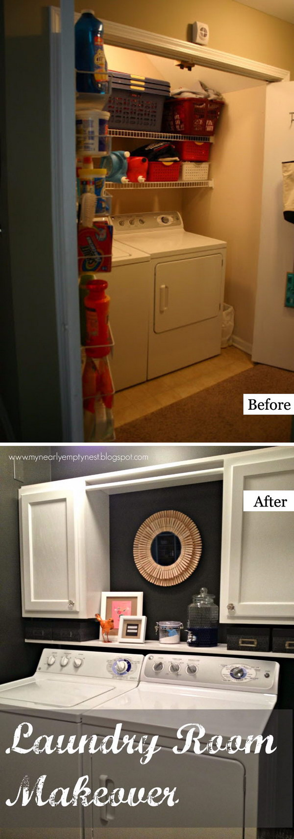 Great Laundry Room Makeover.