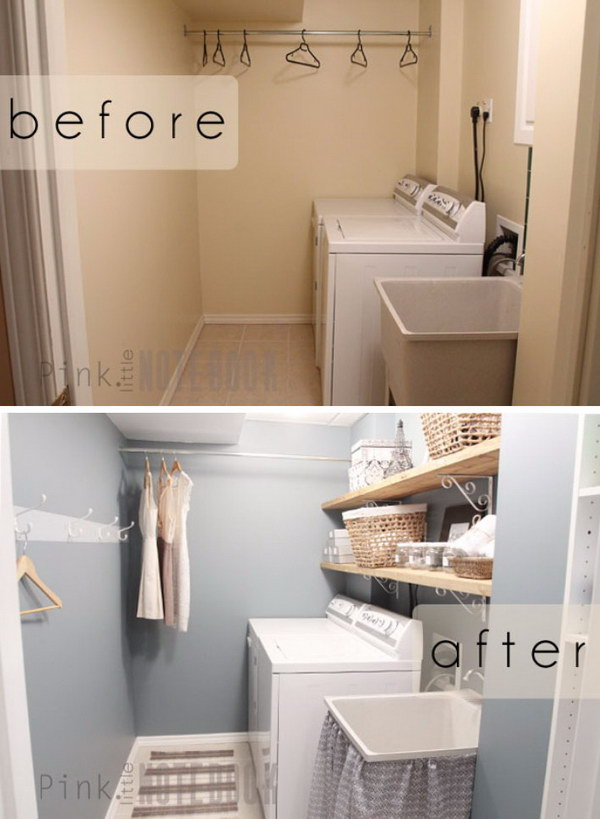 A Quick & Cheap Laundry Room Refresh.