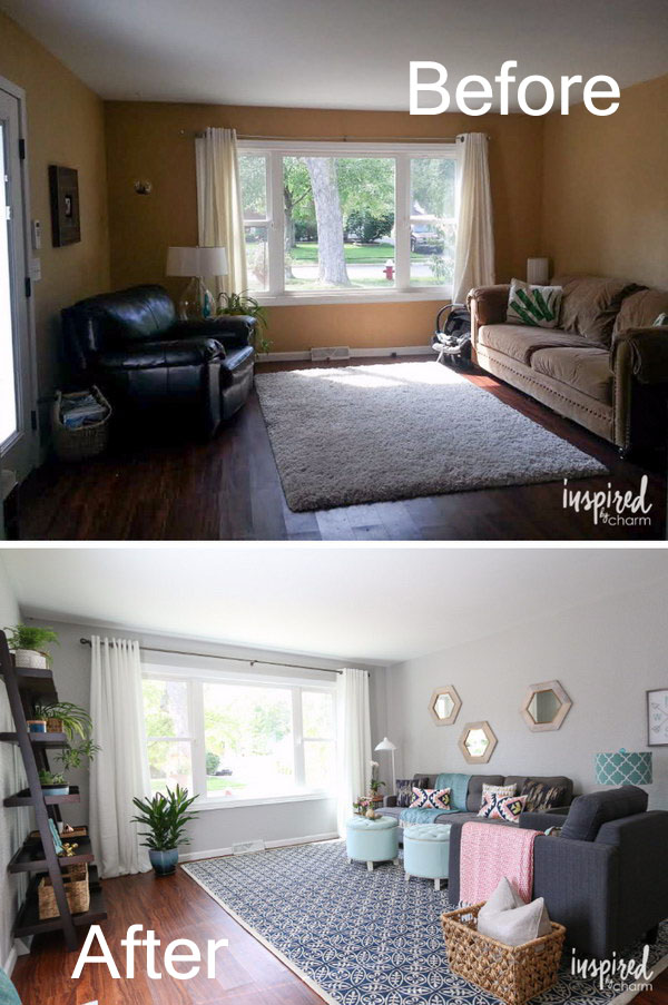From Bowns to Fresh Living Room Makeover.