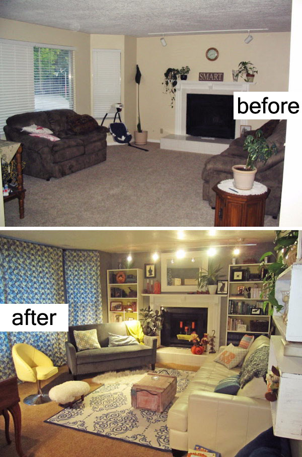 Living Room Makeover With Cozy Style.