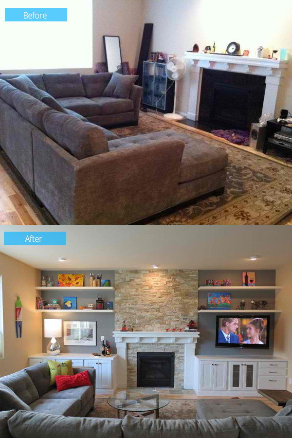 Beautiful Living Room Makeover.