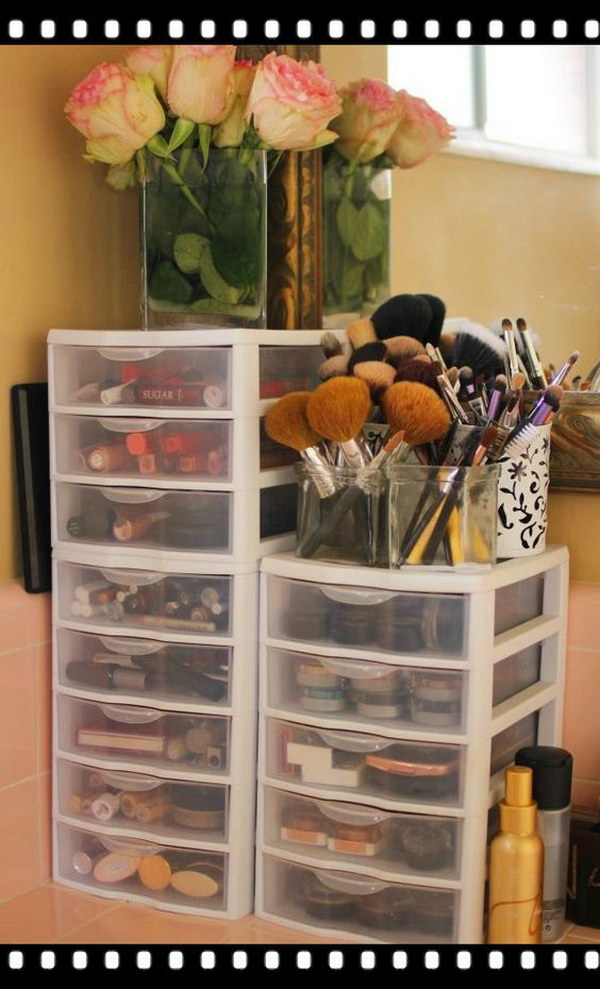 Creative Makeup Storage Ideas And Hacks For Girls Noted List