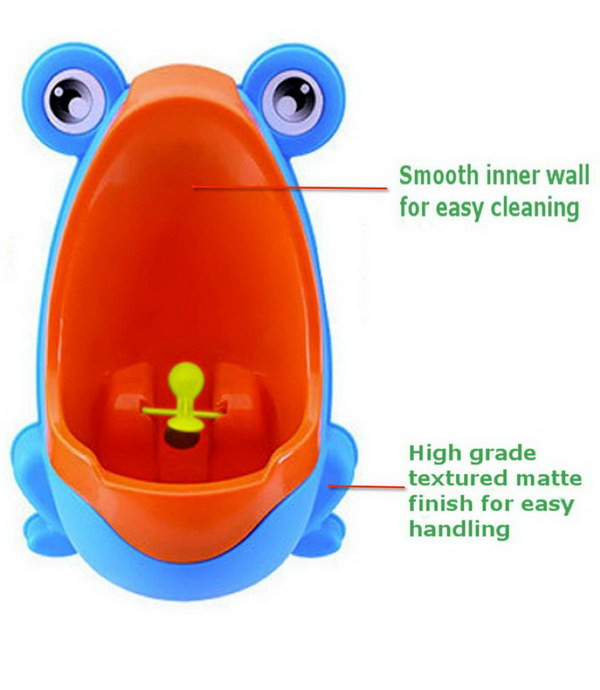 Great boys potty training urinal that's easy to empty and clean.