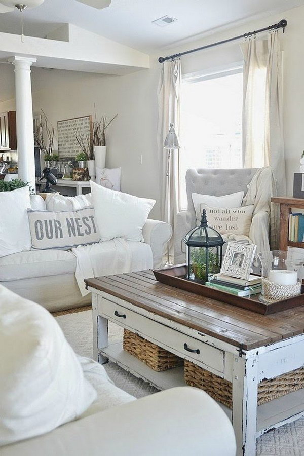 Rustic Chic Coffee Table