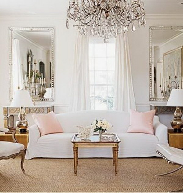 French Chic Living Room Decor