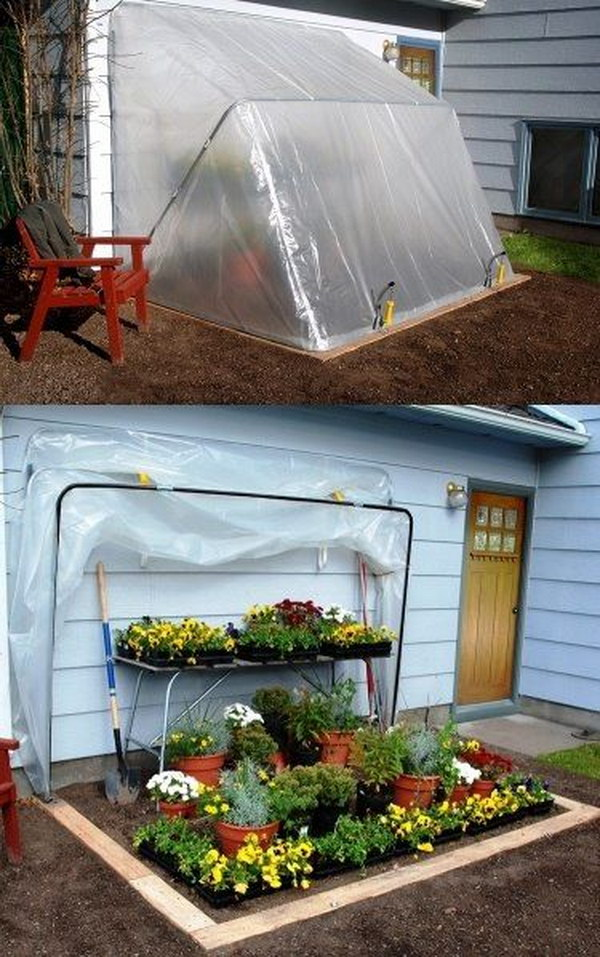 Use This Convertible Greenhouse To Control How Long Your Plants Need To Stay Outside.