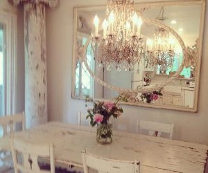 Shabby Chic Dining Room Ideas: Awesome Tables, Chairs And Chandeliers For Your Inspiration