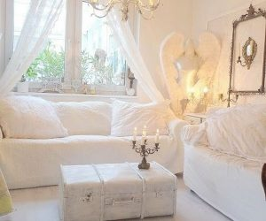 Romantic Shabby Chic Living Room Ideas