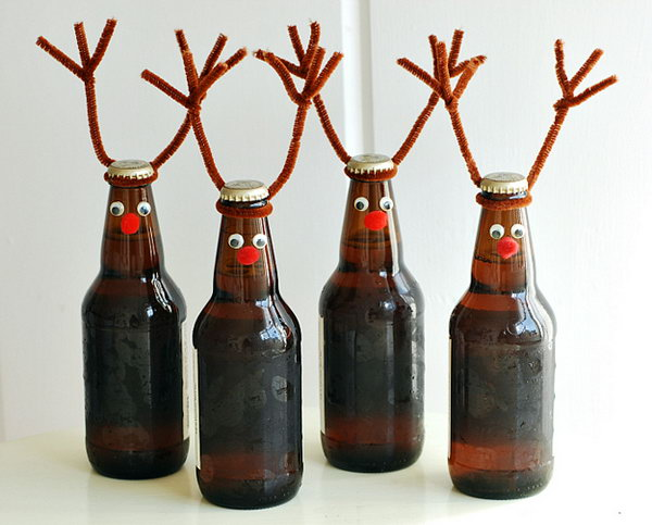 18 Awesome Beer Bottle Craft Tutorials Amp Ideas Noted List