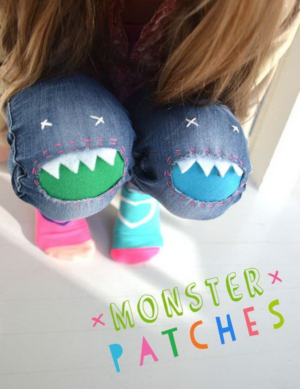 Monster Patches for Jeans