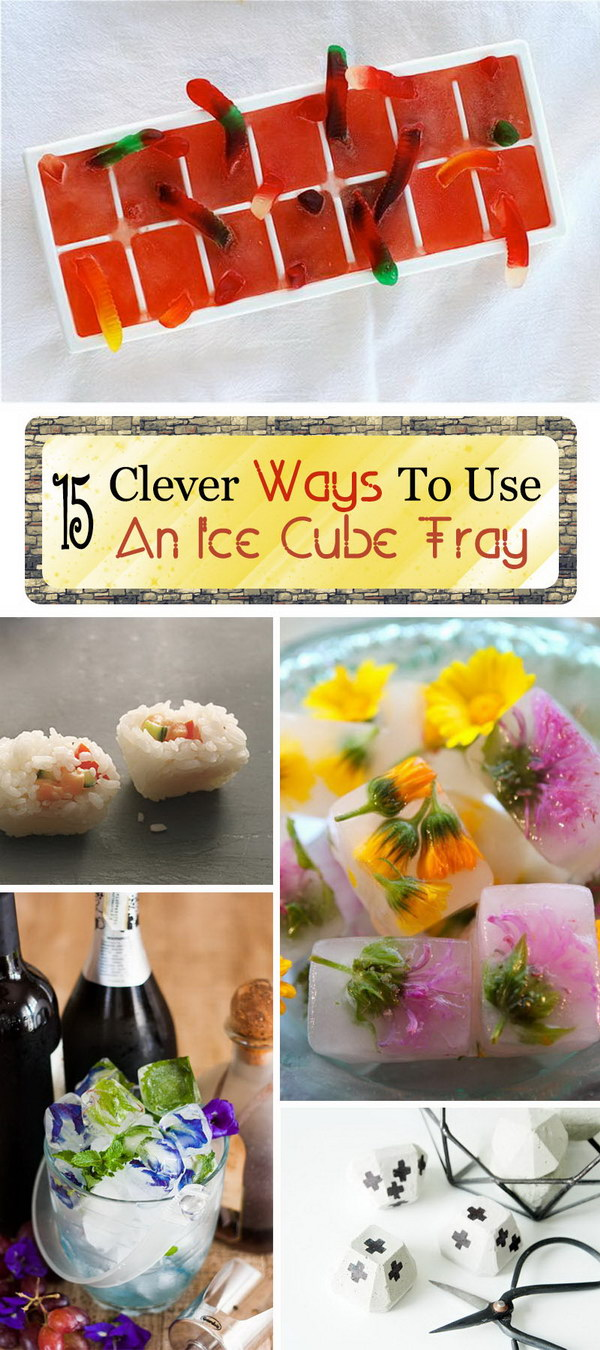Clever Ways To Use An Ice Cube Tray!