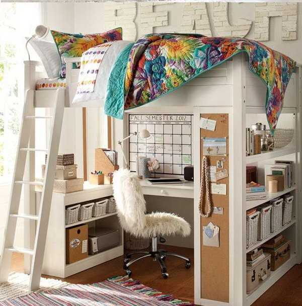 Amazing Kids Loft Bed Decoration