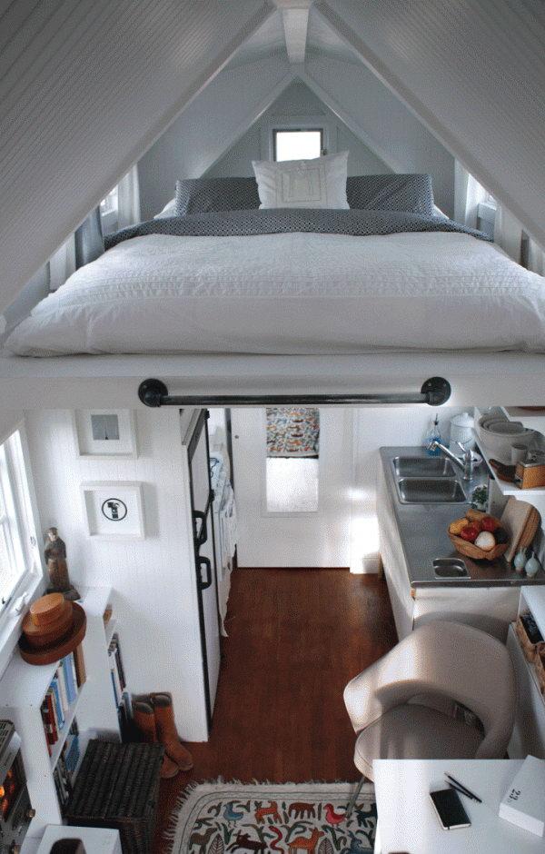 Ceiling Loft Bed