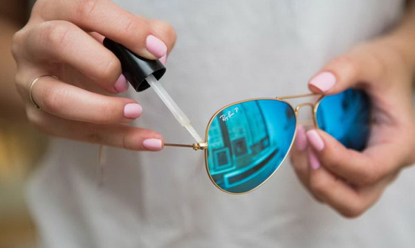 Use Clear Nail Polish to Tighten Screws