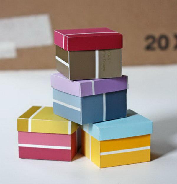 Paint Chip Boxes