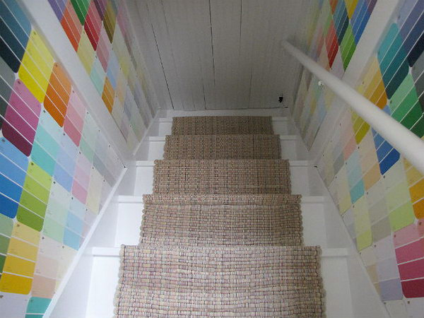 Attic Stairs Wall Decor