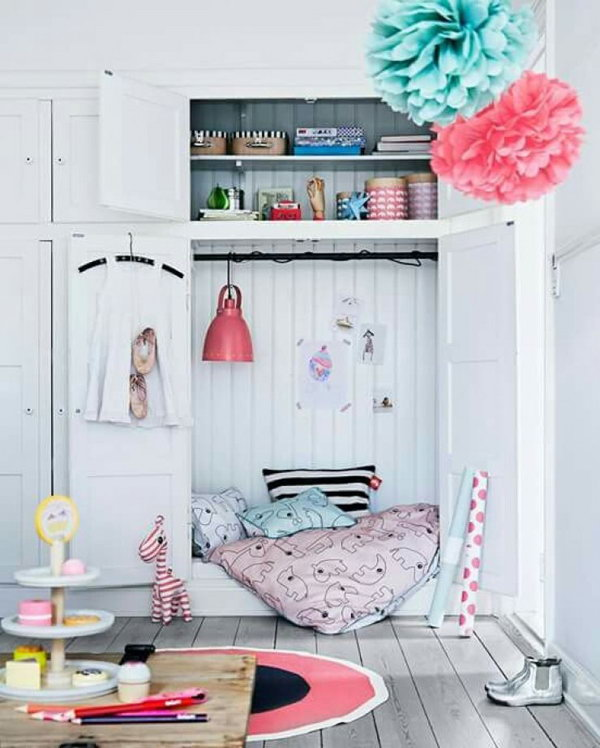 Kids Reading Corners Cabinet