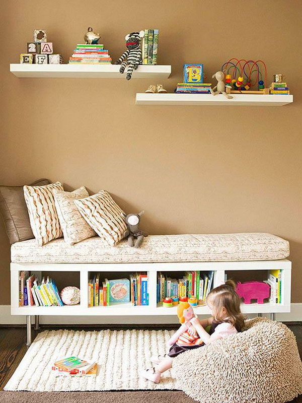Cute Reading Nook For Kids