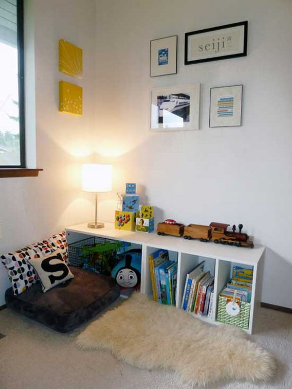 Reading Nook That Costs Only $12