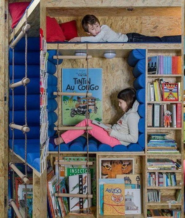 Secret Reading  Nook For Kids