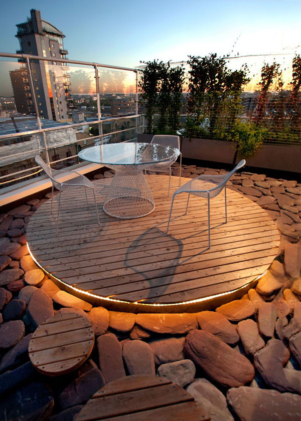 Amazing Stone Rock Roof Garden