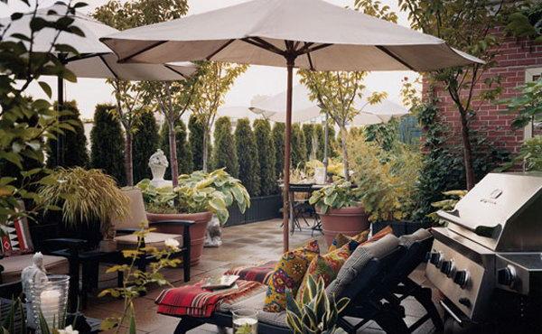 Harlem Rooftoop Garden Idea