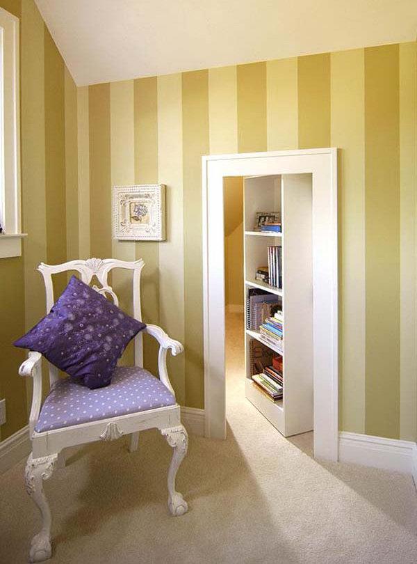 Cabinet Secret Room Design