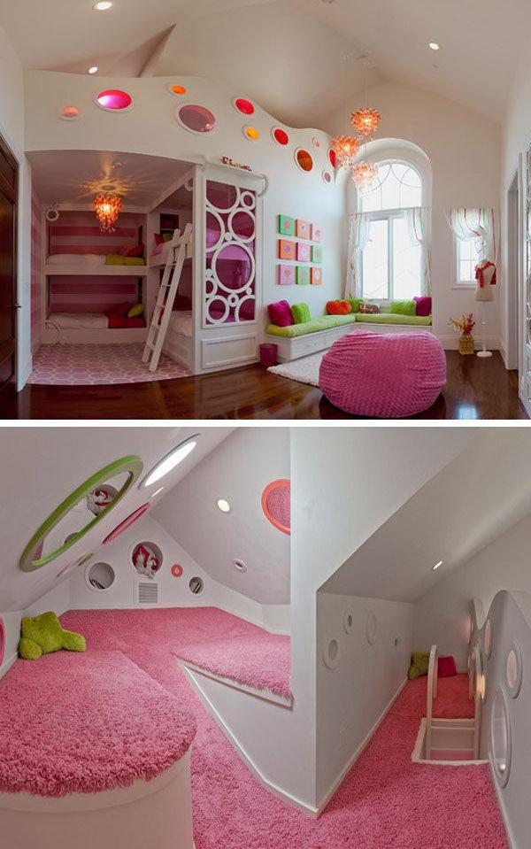 Secret Rooms in Bunk Beds