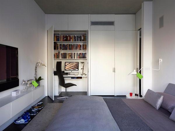Secret Workspace in A Closet
