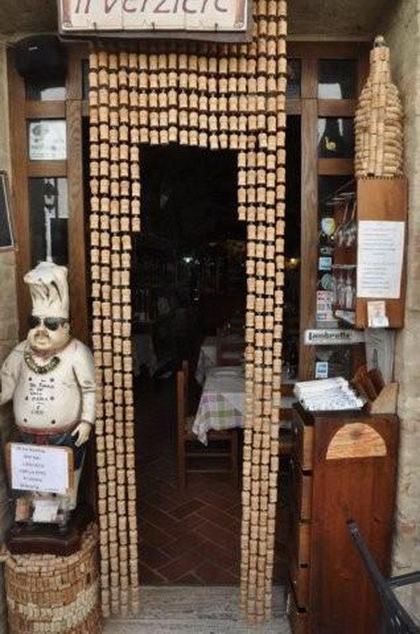 Wine Cork Entrance Curtain