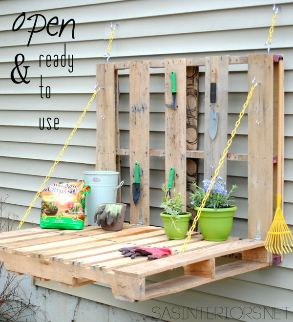 13 garden storage ideas
