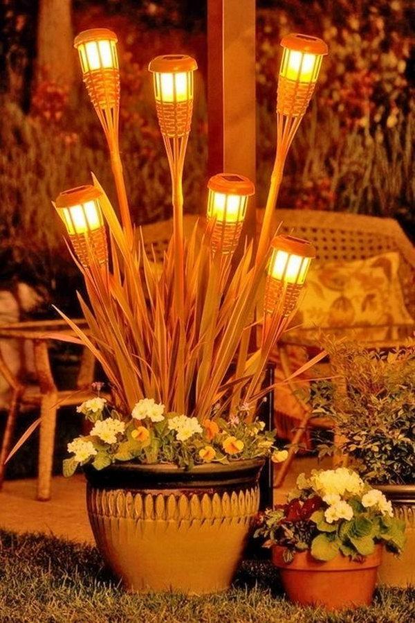 Backyard Lighting Ideas.