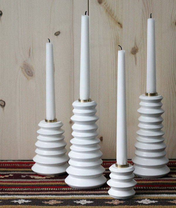 Spice Mill Candle Holder. See how