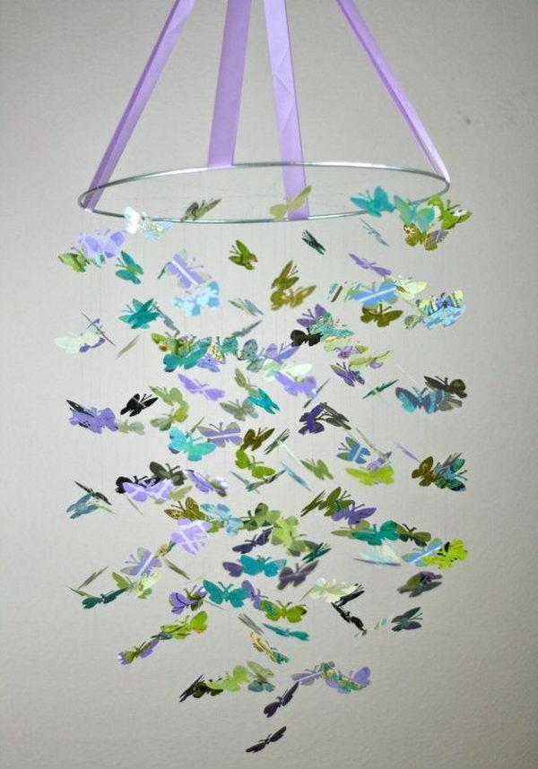 Butterfly Chandelier.