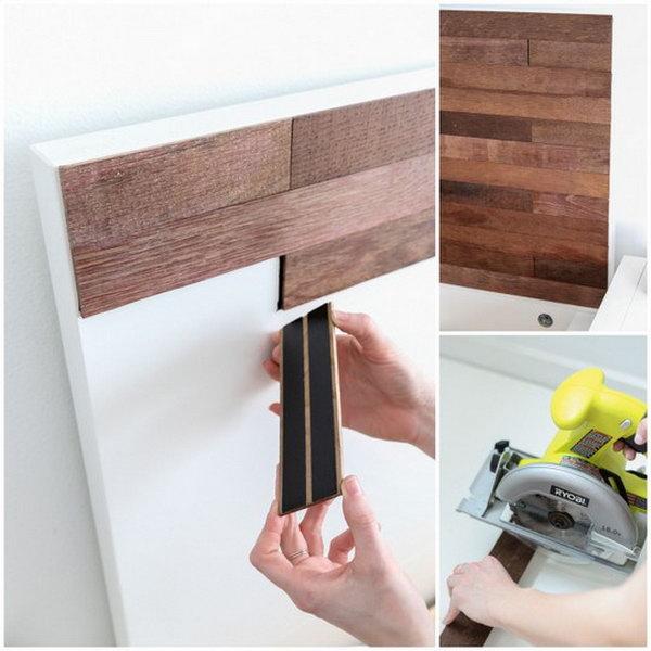 IKEA Hack Stikwood Headboard