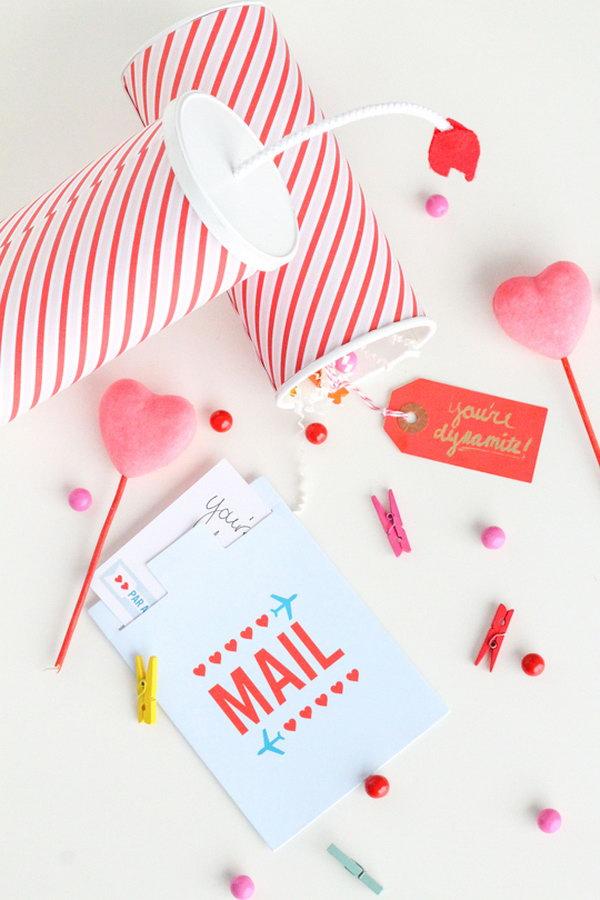 DIY You're Dynamite Valentines