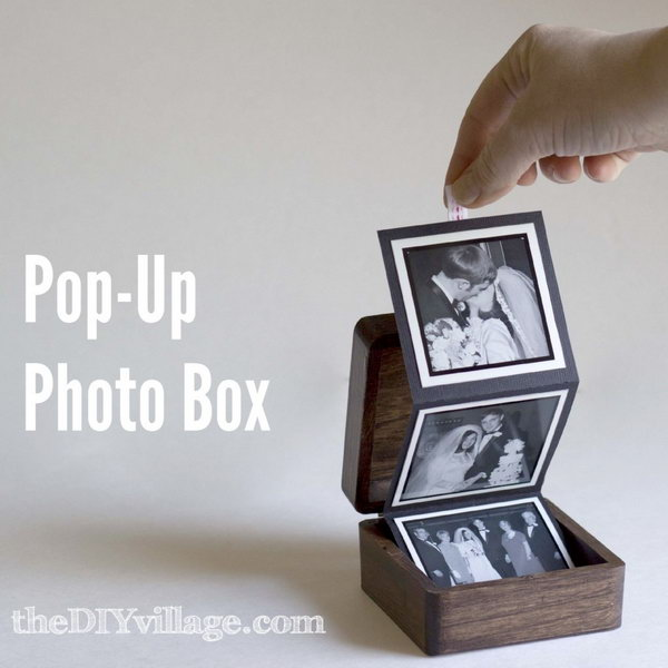 Pop Up Photo Box