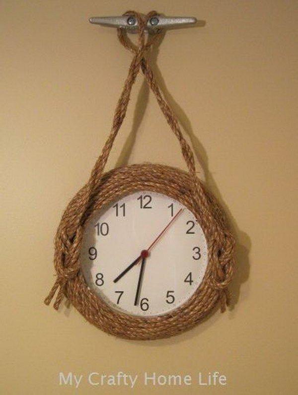 Nautical Wall Clock. See how