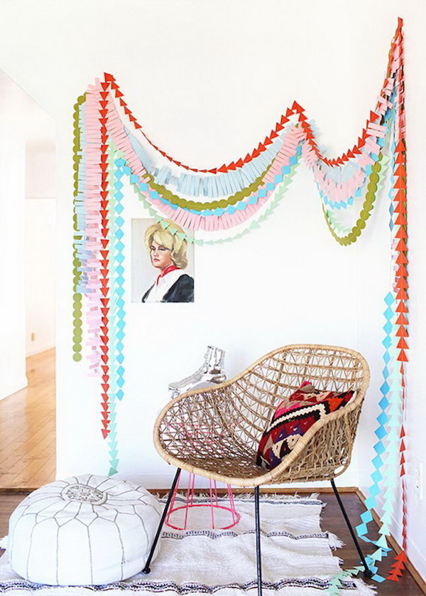 Layered Garland. Check out the steps