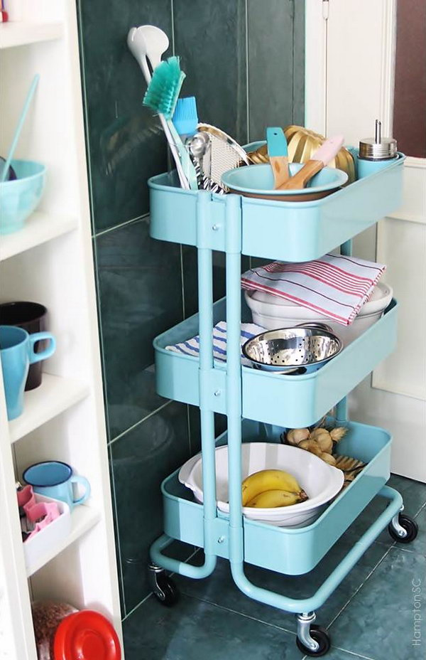 IKEA Bar Cart Rescue. Get the instructions
