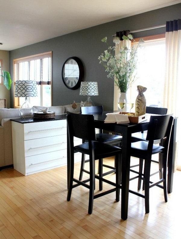 IKEA Tarva Dresser Hacked into Dining Room Sideboard. Get more details
